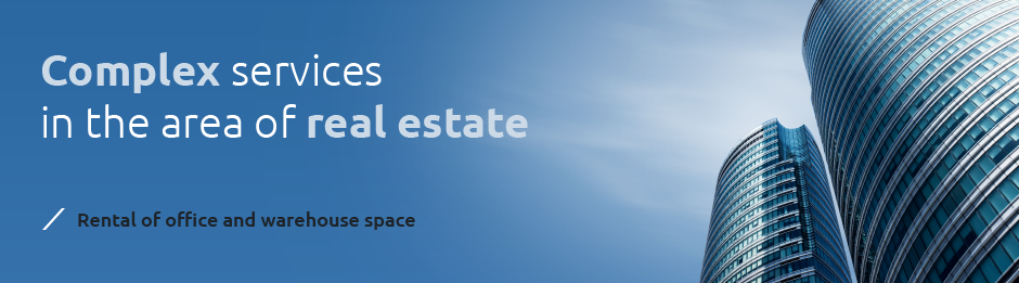 Complex services in the area of real estate